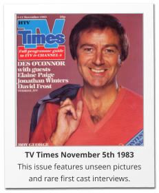 TV Times November 5th 1983 This issue features unseen pictures and rare first cast interviews.